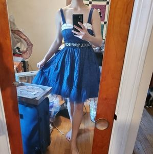 Doctor Who Police Box dress